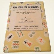 Vintage Mah Jong For Beginners