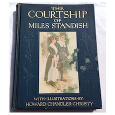 1903 The Courtship Of Miles Standish By Henry Wadsworth Longfellow