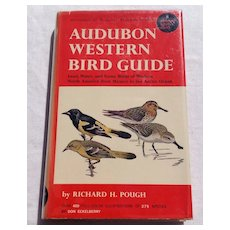 1957 Audubon Western Bird Guide By Richard H. Pough