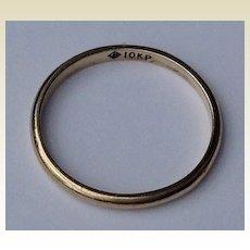 Vintage 10 K Gold Child's Baby Ring