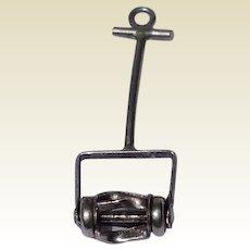 Sterling Silver Mechanical Lawn Mower