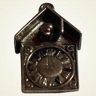 Vintage Sterling Silver Cuckoo Clock Charm