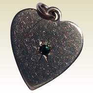Vintage Gold Filled Heart Shaped Charm