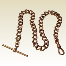 Vintage Gold Filled Pocket Watch Chain