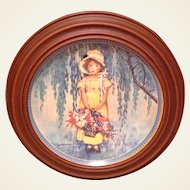 Vintage 1986 Knowles Collectible Plate Easter Jessie Willcox Smith