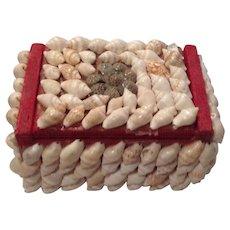 Vintage Shell Art Box