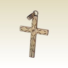 Vintage Gold Filled Cross