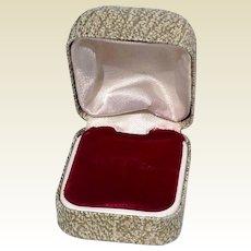 Vintage Jewelry Store Ring Display Presentation Box