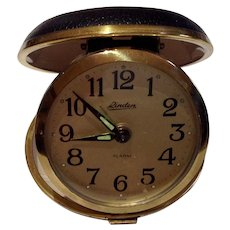 Vintage Linden  Travel  Alarm Clock