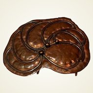 1980's Copper Color Scarf Buckle