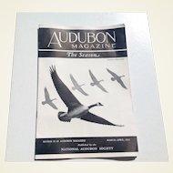 Audubon Magazine March - April 1941 Published By The National Audubon Society