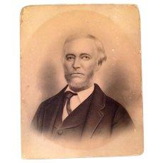 1820 Victorian Photograph Of A Man