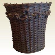 Engliah Vintage Barbolla Wastebasket