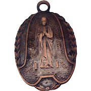 Large Virgin Mary Our Lady Of The Highway Catholic Medal
