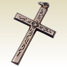 Vintage 10 K Gold Filled Cross