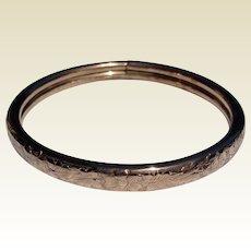 Vintage Gold Filled Bangle Bracelet