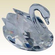 Retired Swarovskii Crystal Mini Swan