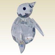 Retired Swarvoski Crystal Mini Penguin