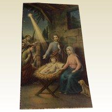 Vintage Prayer Card C/374