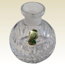 Vintage Waterford Crystal Perfume Bottle