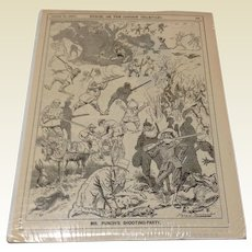 1892 English Picture From Punch, Or The London Charivari