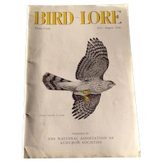 Vintage July - August 1936 Bird - Lore Magazine Published By The National Association Of Audubon Societies