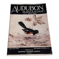 Vintage September - October 1941 Audubon Magazine