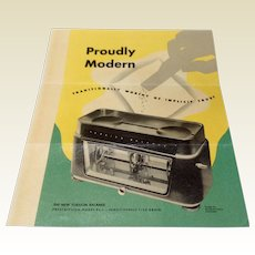 Vintage Torsion Balance Pharmacist Scale Brochure