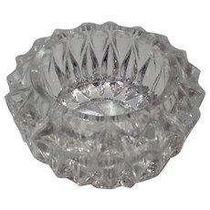 Vintage Pressed Glass Salt Cellar - Red Tag Sale Item
