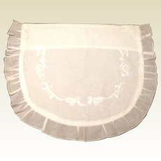Vintage English Cotton Baby Pillow Case