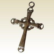 Vintage Sterling Silver Celtic Cross