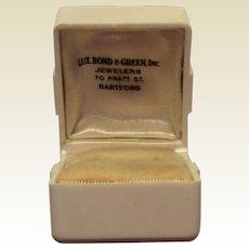 Vintage Jewelry Ring Display Box