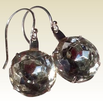 Upcycled Sterling Silver Paste Earrings