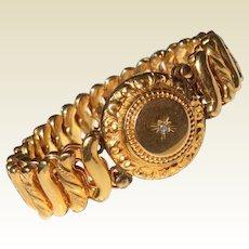 Victorian Gold Filled Expansion Stretch Bracelet
