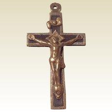 Very Early Catholic Crucifix