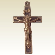 Very Early Catholic Crucifix