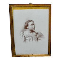 Brass Easel Back Photo Frame