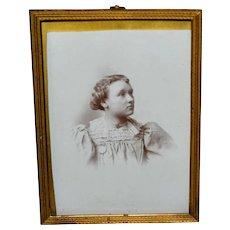 Brass Easel Back Photo Frame