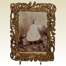 Victorian James W.  Tufts Silver Plate Picture Frame #2657