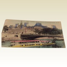 World War I Soldiers Postcard Paris France