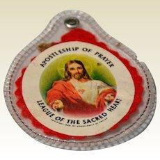 1959 Apostleship Of Prayer Sacred Heart Scapular