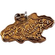 Vintage Sterling Silver Jamaica Charm