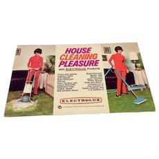 Vintage Advertising Post Card Electrolux