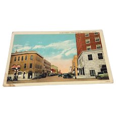 Vintage View Of Third Street Texarkana, Texas Post Card