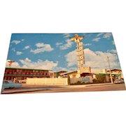 Post Card Thunderbird Lodge Eureka, California
