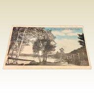Vintage Advertising Postcard Auburn Post Card Mfg. Co.