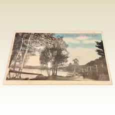 Vintage Advertising Postcard Auburn Post Card Mfg. Co.