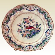 """English Booths Silicon China 9"""" Plate """"Old Dulch"""""""