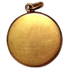 Vintage Gold Filled Photo Locket