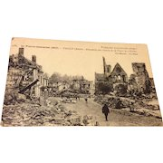 World War I Post Card Soldiers Mail
